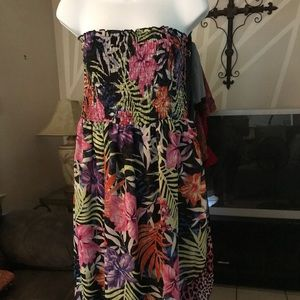 Newport New Global Exclusive Strapless Dress